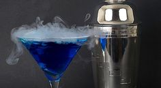 How To Mix Spooky Cocktails With Dry Ice
