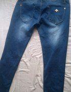 Jeansy rurki biodrówki 38 40   Cena: 10,00 zł  #taniespodnie