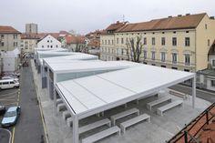 New Market in Celje / Arhitektura Krušec