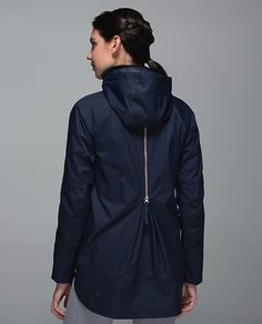 I love this basic coat that has an unique element that makes it more fitted and special.