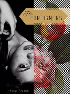 Absolutely Stunning. Book cover of 'The Foreigners' by Maxine Swann