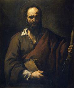 https://flic.kr/p/o47v9F | Saint Simon | c. 1630. Oil on canvas. 107 x 91 cm. Museo Nacional del Prado, Madrid. P01091.