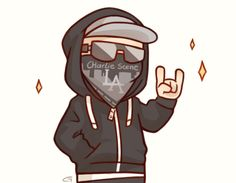 Hollywood Undead ❤️Charlie Scene ✨️chibis
