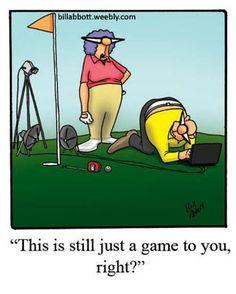 """""""Spectickles"""" Cartoon A Day - Golf Cartoon"""