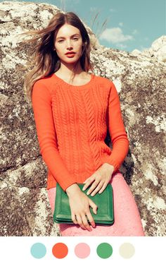 Fabulous color pallette from J Crew