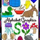 I'm proud to provide you with this set of Alphabet Graphics that I've finally completed!  Included are over 60 images; as you can tell I went a lit...