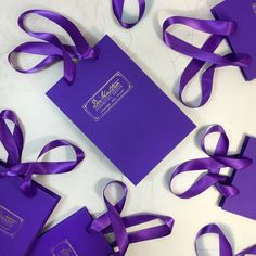 Luxury purple gift bags with a stunning gold for DiMatteo Financial Group - ribbon handles add to the sensory experience! gift bag Luxury gift bag for DiMatteo Print Packaging, Packaging Design, Custom Paper Bags, To Go, Custom Made Gift, Virgo Moon, Sensory Experience, Brand Strategist, Luxury Packaging