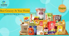 Making Grocery Shopping More Convenient! Buy Online Daily Need Grocery Product From Kanpur at ezeelo.com #grocery #kirana #offers #discounts #kanpur #ezeelo
