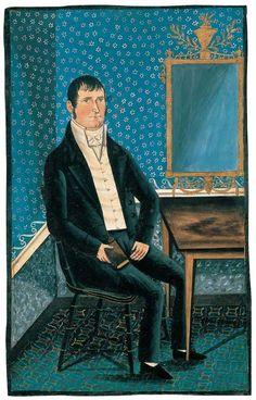 Jacob Maentel (1778–?)  Jonestown, Pennsylvania  c. 1815–1825  American Folk Art Museum
