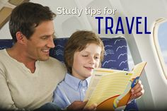 Help your child study while traveling this summer with these tips from Varsity Tutors, via the TODAY Show's Parenting Team.  #StudyTips