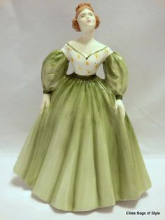 "COALPORT Ladies of Fashion: ""Kelly"". Bone China Figurine. Made in England"