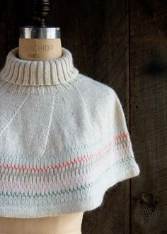 Northern Lights Capelet