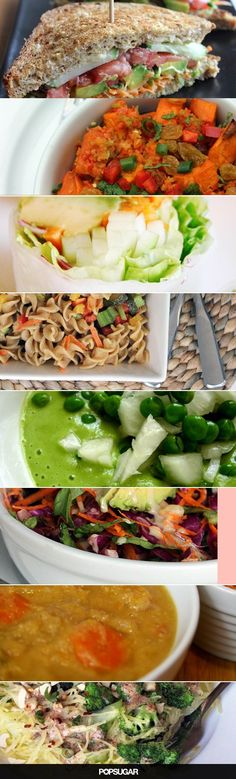 30 Vegan Lunches You Can Take to Work(Vegan Diet Plant Based) Healthy Recipes, Veggie Recipes, Lunch Recipes, Whole Food Recipes, Vegetarian Recipes, Cooking Recipes, Cooking Tips, Celiac Recipes, Delicious Recipes