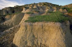 "As the last ice age was ending, the winds blew finely ground soil into dunes along what is now the Missouri River. Dunes made of this ""loess"" soil (from the German for ""loose"") piled up over 200 feet in some parts of Iowa over thousands of years. Loess hills can be found elsewhere in the world but Iowa's are special: They're second only to China's in height. 