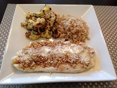 Almond crusted grouper with beurre blanc sauce