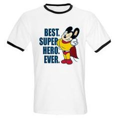 CafePress Mighty Mouse Hero Pose Womens PJs