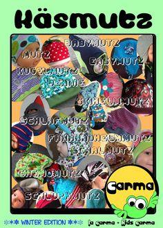 https://www.facebook.com/La-Carma-Kids-Carma-218111708342950/ eBook verschiedene Mützen für Kinder und Erwachsene in einem eBook