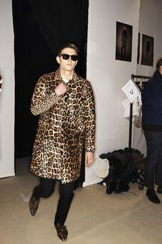 Burberry Prorsum Men AW13/14 Fashion show Milan Backstage