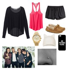 """""""sleeping over their houses"""" by emshort on Polyvore"""