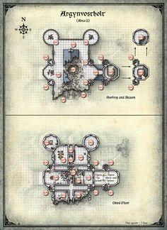 Curse of Strahd; Argynvostholt 2 (Digital DM & Player Versions) $1.75