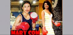 priyanka chopra at the boxing ring
