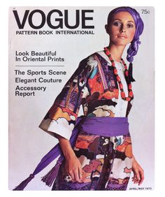 VOGUE Pattern Book International  April / May 1970