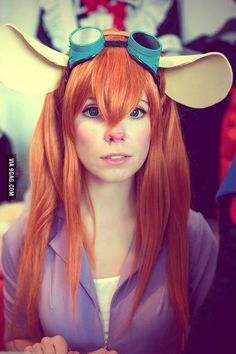 This cosplay of Gadget Hackwrench from Rescue Rangers - 9GAG