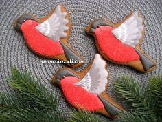 Роспись пряников, имбирного печенья глазурью (айсингом). Новогоднее печенье / рождественское печенье - YouTube