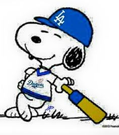 dodger Snoopy