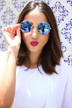 71b3ae489f421 oculos redondo espelhado - Pesquisa Google Oculos De Sol Quadrado, Oculos  De Sol Redondo,