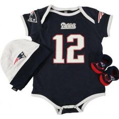 Gerber New England Patriots Infant 5-Piece Beanies & Booties Set ...