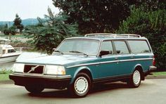 something undefinably cool about old volvo wagons....BEST car EVER  ...same color too! Eleanor drove us around for 300,000 miles!!!!!