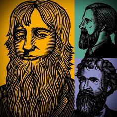 Exceptional beard art from Beardsley USA
