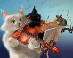 Cats and violins