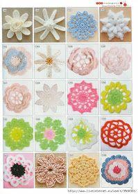 Arts and craft crochet pattern book, free crochet pattern ~ make handmade - handmade - handicraft - what the heck! Crochet Diy, Art Au Crochet, Crochet Motifs, Crochet Flower Patterns, Crochet Round, Irish Crochet, Crochet Doilies, Crochet Stitches, Crochet Leaves
