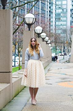 5 Reasons Why Every Girl Needs a Pretty Tulle Skirt | Dainty Jewell's Polka Dot Tutu