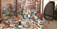 Livros didáticos viram papel higiênico em depósito da prefeitura no Piauí
