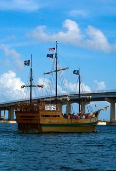 Pirate Ship...Orange Beach, Alabama