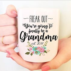 15 oz, Personalized Custom, Baby Reveal, Pregnancy Announcement, Est. date, Surprise, Mommy, Daddy, Aunt, Uncle, Grandma Grandpa, Coffee Mug