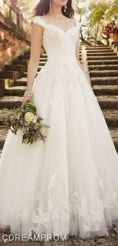 lace wedding dress wedding gown