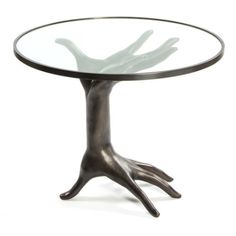 DICHOTOMY TABLE natural or oil-rubbed bronze