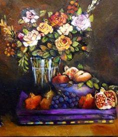 Fruits & blooms by Liesel Brune
