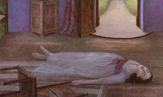 This illustration by Angela Barrett from Snow-White was inspired by a Lee Miller photograph