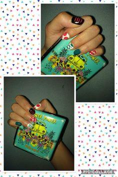 Juuzou Suzuya inspired nails ^^.
