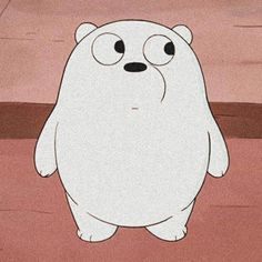 Ice Bear We Bare Bears, We Bear, Bear Cartoon, Cartoon Icons, Cute Disney Wallpaper, Cute Cartoon Wallpapers, Choses Cool, Anime W, We Bare Bears Wallpapers