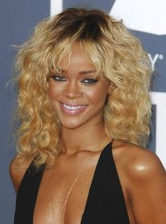 I want this hair do...just not blonde...maybe black on top, blonde on bottom...