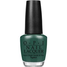 Opi Nail Lacquer, Stay Off The Lawn! (13 CAD) ❤ liked on Polyvore featuring stay off the lawn
