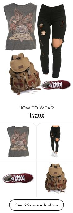 """""""Untitled #2062"""" by simplysavvy on Polyvore featuring Vans"""