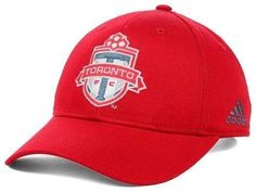 Toronto FC hat MLS Adidas Soccer new with stickers U-Sector Red Patch Boys