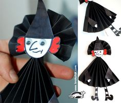 witch-folding paper